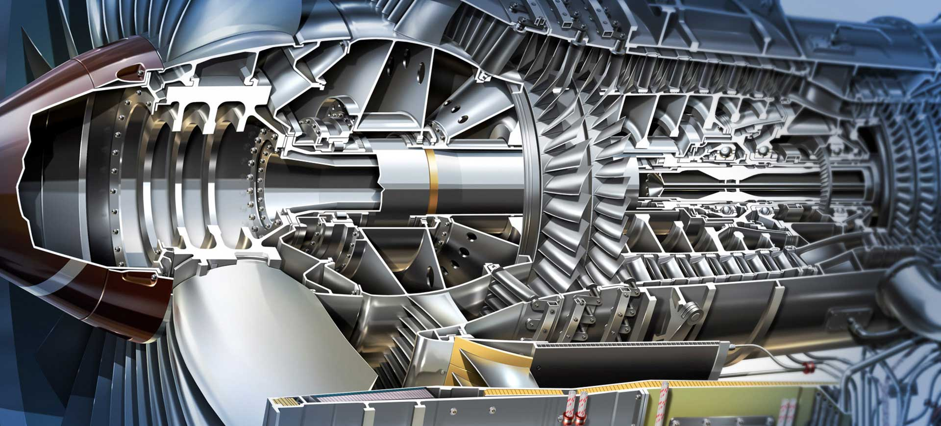 Maltings Partnership, Derby Rolls-Royce Trent Engine